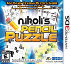 Nikolis Pencil Puzzle - 3DS [Brand New]