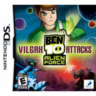 Ben 10: Alien Force - Vilgax Attacks - DSI / DS [Brand New]