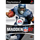 Madden NFL 07 - PS2 (With Book)