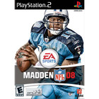 Madden NFL 08 - PS2 (With Book)