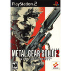 Metal Gear Solid 2: Sons of Liberty - PS2 (With Book)