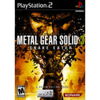Metal Gear Solid 3: Snake Eater - PS2 (With Book)