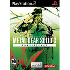 Metal Gear Solid 3: Subsistence - PS2 (With Book)
