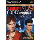 Resident Evil Code: Veronica X - PS2 (With Book)