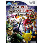 Super Smash Bros. Brawl - Used (With Book) - Wii