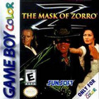 The Mask Of Zorro - GBC (Cartridge Only, Label Wear, Cartridge Wear)