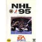 NHL 95 - Sega Genesis (With Box and Book)
