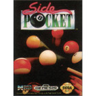 Side Pocket - Sega Genesis (With Box and Book, Label Wear)