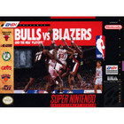 Bulls vs Blazers and the NBA Playoffs - SNES (Cartridge Only, Cartridge Wear)