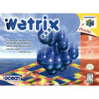 Wetrix - N64 (With Box and Book, Cartridge Wear)