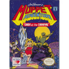 "Jim Henson's Muppet Adventure ""Chaos and the Carnival"" - NES (Cartridge Only, Label Wear)"