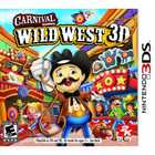 Carnival Games Wild West - 3DS [Brand New]