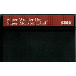 Super Wonder Boy - Super Monster Land - Sega Master System (Cartridge Only, Cartridge Wear, Label Wear)