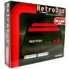 Retro-Bit Retro Duo NES & SNES (Black/Red)