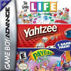 Hasbro's Life, Yahtzee And Payday - GAMEBOY ADVANCE (Cartridge Only)
