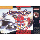NHL Stanley Cup - SNES (Book, No Box, Cartridge Wear)