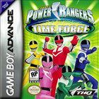 Power Rangers Time Force - GAMEBOY ADVANCE (Cartridge Only, Label Wear)