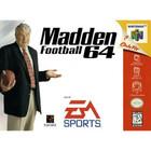 Madden Football 64 - N64 (Cartridge Only, Cartridge Wear)