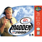 Madden NFL 2000 - N64 (Cartridge Only, Label Wear)