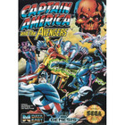 Captain America and the Avengers - Sega Genesis - (Cartridge Only, Label Wear)