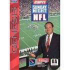 ESPN Sunday Night NFL - Sega Genesis - (With Box and Book)