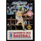 Sports Talk Baseball - Sega Genesis - (With Box and Book)