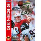 NFL Quarterback Club 96 - Sega Genesis (Cartridge Only, Label Wear)