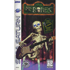 Mr. Bones - Sega Saturn (With Box and Book)