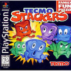 Tecmo Stackers - PS1 (With Box and Book)
