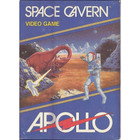 Space Cavern (Blue Label) - Atari 2600 (Cartridge Only, Label Wear)