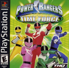 Power Rangers Time Force - PS1 (With Book)