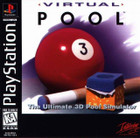 Virtual Pool - PS1 (With Book)