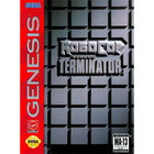 Robocop versus Terminator - Sega Genesis (With Box and Book)