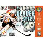NHL Blades of Steel '99 - N64 (Cartridge Only, Cartridge Wear)