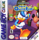 Donald Duck In: Goin' Qu@Ckers! - GAMEBOY COLOR (Cartridge Only, Label Wear)