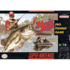 Super Black Bass - SNES (Cartridge Only, Label and Cartridge Wear)