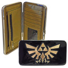 Zelda Triforce Metallic Hinge Wallet Black