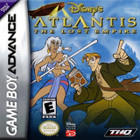 Disney Atlantis: The Lost Empire - GBA (With and Book)