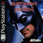 Batman & Robin - PS1 (With Book)