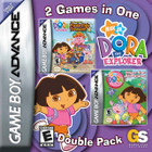 Dora the Explorer Double Pack - GBA (Cartridge Only)