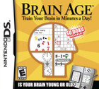 Brain Age: Train Your Brain in Minutes a Day - DS (Cartridge Only)