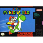 Super Mario World - SNES (Cartridge Only, Label Wear)