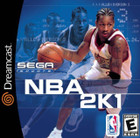 NBA 2K1 - Dreamcast (With Book)