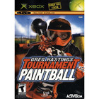 Greg Hastings' Tournament Paintball - Used (With Book) - XBOX