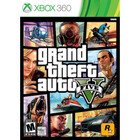Grand Theft Auto V (Used) With Book - XBOX 360