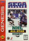 NHL All-Star Hockey '95 - Sega Genesis (Cartridge Only, Cartridge Wear)