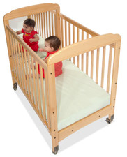 Serenity™ Compact-Size Fixed-Side Crib Mirrored Headboard