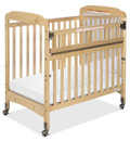 Serenity Compact-Size SafeReach Crib with Mirrored Headboard