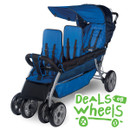 Foundations LX3 Three Passenger Stroller