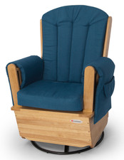 SafeRocker SS Swivel Rocker (Natural/Blue)